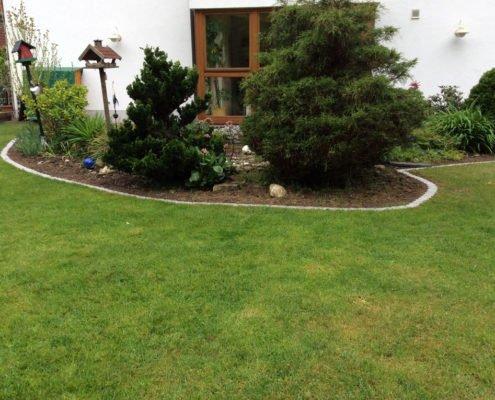 BIO-Rasenkante Rasen Erde