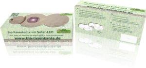 Karton LED-Stein Rasenkanten