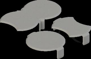 Schneckenbremse granitgrau